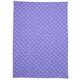 Lavender Flower Jacquard Kitchen Towel