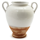 Handmade Italian White Confit Jar