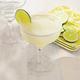 Sur La Table White-Rimmed Margarita Glass