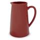 Red Porcelain Pitcher
