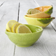 Figural Lime Pinch Bowl