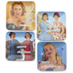 Anne Taintor Mini Trays, Set of 4
