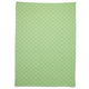 Green Flower Jacquard Kitchen Towel