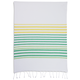 Green Hem Stripe Kitchen Towel