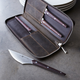 Zwilling J.A. Henckels Gentlemen's Steak Set with Leather Case, 4-Piece