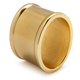 Gold-Brushed Oval Napkin Ring