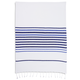 Navy Hem Stripe Kitchen Towel