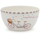 Paris Bicycle Dessert Bowl