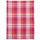 Pink Madras Kitchen Towel