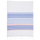 French Blue Hem Stripe Kitchen Towel, 28