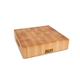 John Boos & Co.® Square End-Grain Maple Chopping Block