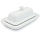 Le Creuset White Butter Dish