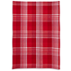 Red Madras Kitchen Towel