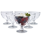 Duralex Gigogne Ice Cream Bowl, Set of 6, 8¾ oz.