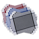 Checkered BBQ Placemats, Sets of 4