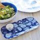 Blue Hydrangea Rectangular Platter