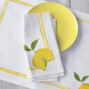 Lemon Printed Napkins, Set of 4