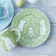 Green Bunny Salad Plate