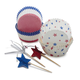 Meri Meri 4th of July Bake Cups, Set of 48