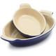 Le Creuset® Heritage Indigo Au Gratin Dishes, Set of 2