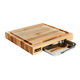 John Boos & Co.® Edge-Grain Rectangular Maple Cutting Board with Insert