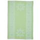 Green Bunny Jacquard Kitchen Towel