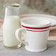 Libbey Glass Milk Bottle