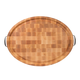 John Boos & Co. Oval End-Grain Maple Cutting Board