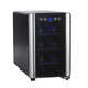 Wine Enthusiast Silent Touchscreen Refrigerator, 6 Bottle