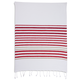 Red Hem Stripe Kitchen Towel