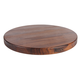 John Boos & Co. Round Edge-Grain Walnut Cutting Board