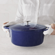 Sur La Table® Blue Round Oven, 7 qt.