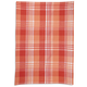 Salmon Madras Kitchen Towel, 28