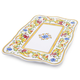 Floreale Rectangular Melamine Serve Platter
