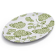 Light Green Hydrangea Oval Platter