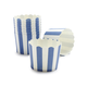 Paper Eskimo Navy and White Stripe Baking Cups, Set of 25