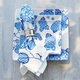 Light Blue Hydrangea Napkins, Set of 4