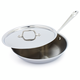 All-Clad Stainless-Steel Skillet with Lid