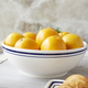Sainte-Germaine Blue Serve Bowl