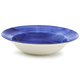 Washed Blue Serve Bowl