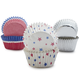 Meri Meri 4th of July Mini Bake Cups, Set of 96