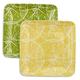 Lemon Melamine Salad Plates