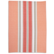 Salmon Bold Stripe Kitchen Towel