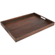 Dark Acacia Serving Tray, 22