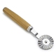 Ateco Fluted Pastry Wheel with Wood Handle