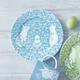 Blue Bunny Salad Plate