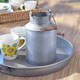 Sur La Table® Galvanized Milk Canister