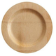 Bambu Veneerware Bamboo Disposable Plates, Set of 8