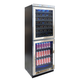 Vinotemp Touch-Screen Display Mirrored Wine and Beverage Cooler, 54 Bottle