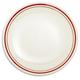 Sainte-Germaine Red Dinner Plate